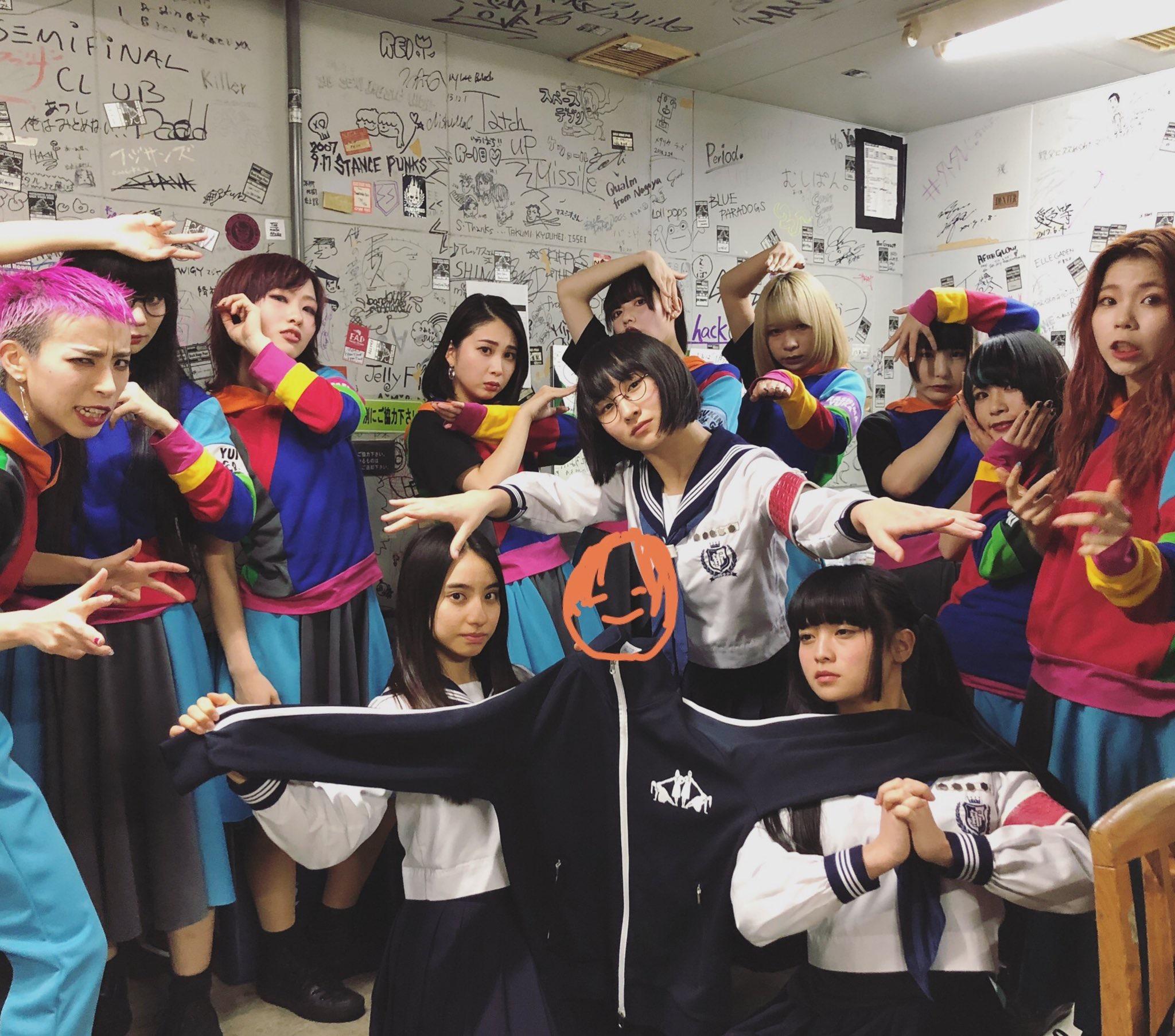 【ライブレポ】新しい学校のリーダーズ ×GANG PARADE(ギャンパレ) の2マン「偶像襲来」 in 松本ALECX セットリスト
